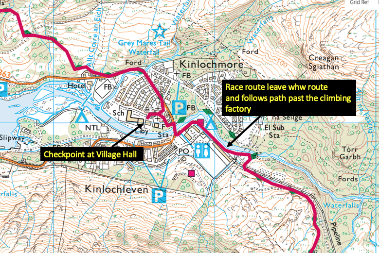 2019 Route Changes and gpx file – West Highland Way Race